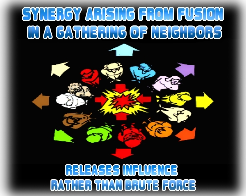 RELEASES INFLUENCE RATHER THAN BRUTE FORCE<br /><br /><br />